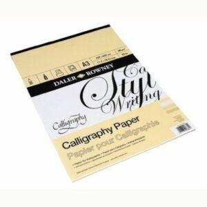 Daler Rowney Calligraphy Pad
