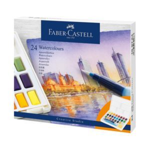 Faber Castell Set of 24 Watercolours