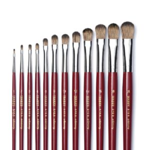 Isabey Memory Oil Brushes