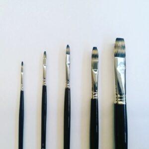 Escoda flat brush