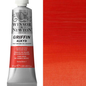 Griffin Alkyd 37ml Cadmim Red Medium Hue