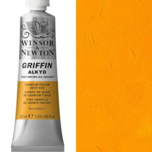 Griffin Alkyd 37ml Cadmium Yellow Deep Hue
