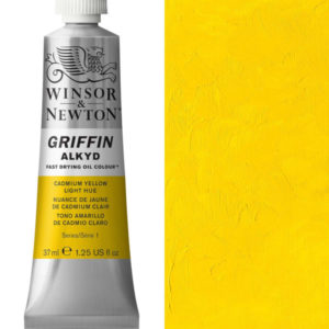 Griffin Alkyd 37ml Cadmium Yellow Light Hue