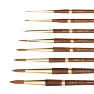 isabey watercolour brushes