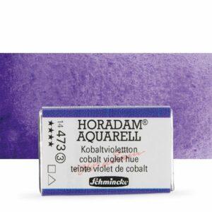 Horadam cobalt violet hue watercolour pan