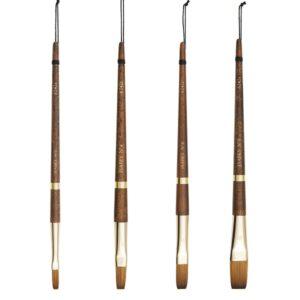 isabey flat brushes
