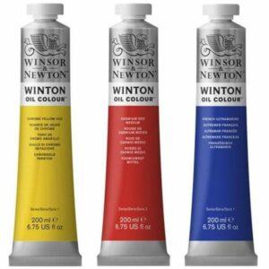 Winton Oil Paint 200ml Tubes